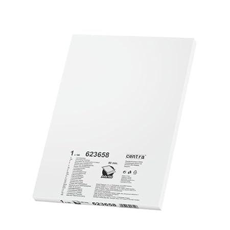 laminati Kit di 100 fogli trasparenti per plastificatrice da 80 micron formato A4 Centra