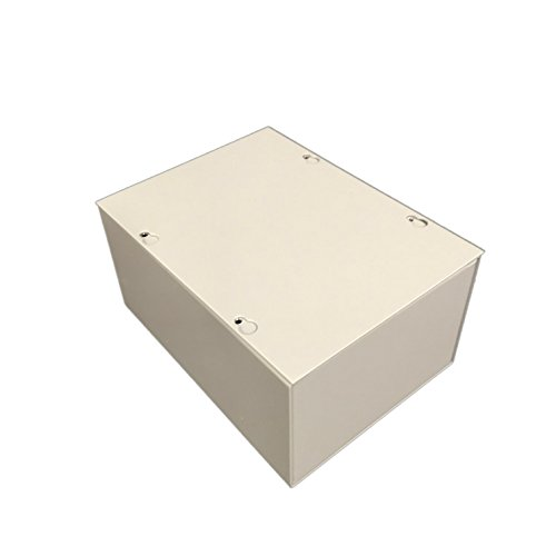 bud industries jb 3956 steel nema 1 sheet metal junction box with lift off screw cover 6 width x 8 height x 4 depth gray finish - Sheet Metal Cover