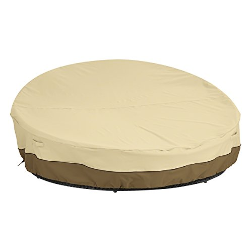 - Classic Accessories Veranda Round Patio Daybed Cover