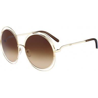 chloe-ce114s-784-ladies-carlina-rose-gold-transparent-brown-ce114s-sunglasses