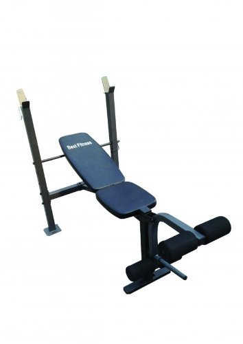 BESTFITNESS Multi Position Weight Bench Incline Decline Flat Exercise Fitness by BESTFITNESS Multi Position Weight Bench Incline de