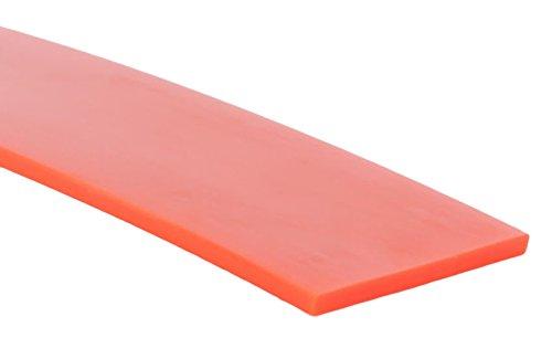 10 Length.062 x .500 Polyurethane 1-Band Orange 12 Length Flat Belting 12 Width MJ May 60-0.50-OF-10 1//2 Wide