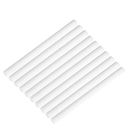 AOLODA Humidifier Filters Sticks,4.5 Cotton Sticks Wicks Replacements for Mini Cactus Humidifiers 20 PCS
