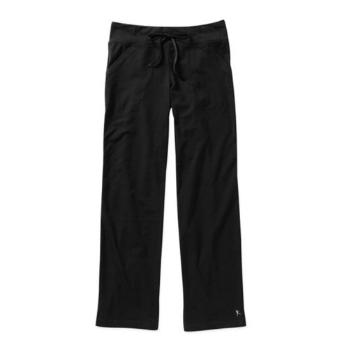 Danskin Now Womens Dri More Petite Relaxed Pants - Yoga, Fitness, Activewear Black Small
