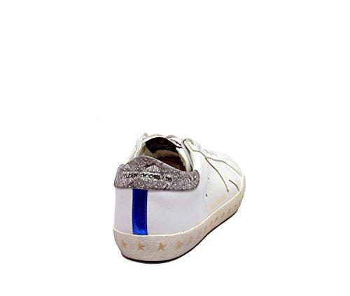 Bassa in Anniversario Bianco Golden Sneaker Pelle Edizione wc6dFBwqT