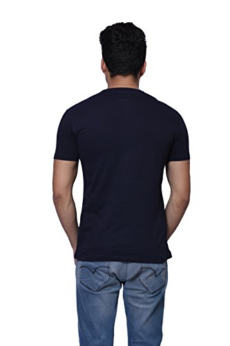 Oneliner Men's Cotton Half Sleeves Printed T-Shirts-(OLMT131-$P)