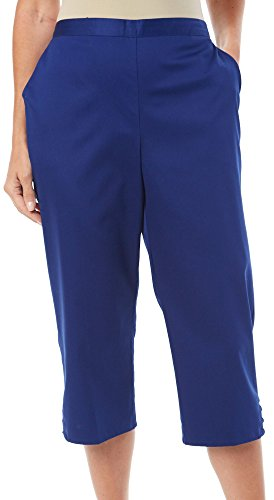 UPC 666805214501, Catalina Island Capri Pants in Cobalt by Alfred Dunner (10)
