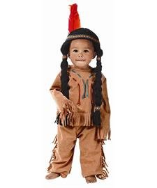 Yarn babies Indian Boy Toddler Costume - (Toddler Indian Costumes)