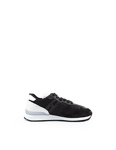 Sneakers Hogan Black Leather HXW2610Y930IVD7234 Women's qqwYIf
