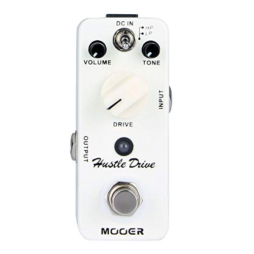 Micro Hustle Drive Distortion effect guitar pedal Tube-like Drive sound Guitar Pedal Compact