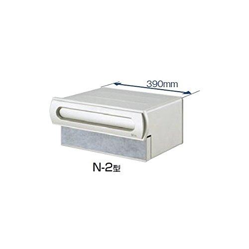 TOEX LIXIL エクスポスト 口金タイプ N-2型(2B-15ボックスタイプ) 【リクシル】  アイボリーホワイト B00GQVOGD4 21360  本体カラー:アイボリーホワイト