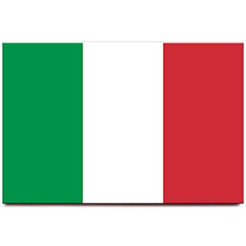 Italy flag fridge magnet Rome Venice travel ()