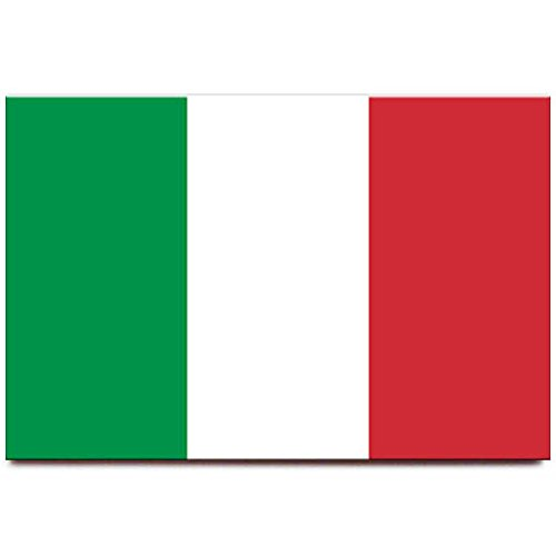 Italy flag fridge magnet Rome Venice travel souvenir