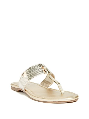 a34c9b4374d GUESS Factory Women s Luelle T-Strap Sandals