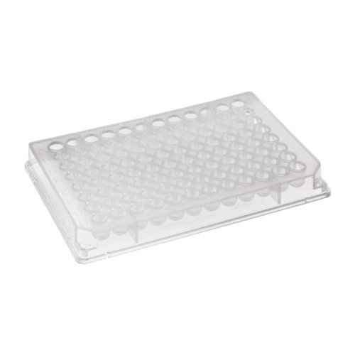 (Axygen P-96-450R-C Deep Well 96-Well x 500 microliter Assay Storage Microplate with Round Bottom Wells, Clear PP (1 Case: 10 Plates/Unit; 5 Units/Case))