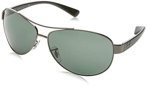 Ray Unisex verde RB3386 Gris Large 63 gris fabricante Ban 004 del Sol de 71 Gafas Talla X58aAXwrq