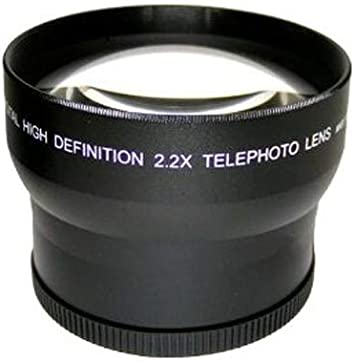 Adapter Included Pro HD 2.2X Telephoto Lens for Canon Powershot SX70 HS