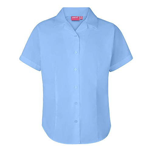 Bleu Uniform Chemisier School 365 Femme WUIIvq