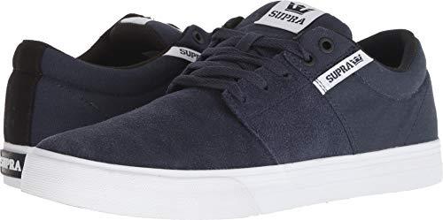 Supra Men's Stacks II Vulc Shoes,11,Navy/White-White ()