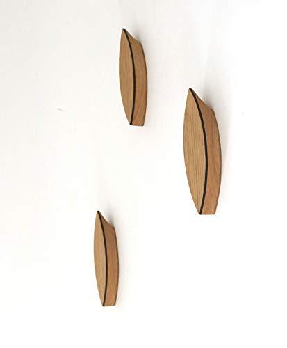Kleiderhaken Aus Holz Einzeln Modernes Design Wandhaken