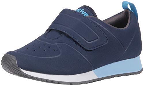 Native Shoes Unisex Cornell Sneaker, Regatta Shell White/Sky Blue, 11 Medium US Little Kid