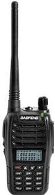 Baofeng 2013 Newest UV-B6 Dual Band VHF and UHF Walkie Talkie, 5-watt, Black