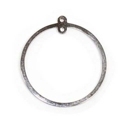 Amoracast Exclusive Sterling Silver Circle Frame ()