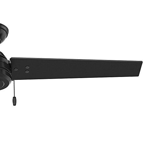 Hunter Fan Company 59264 Hunter 52'' Cassius Matte Black Ceiling Fan by Hunter Fan Company (Image #5)