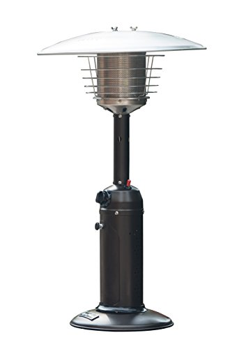 Legacy Heating Tabletop Patio Heater, Mocha Powder Coating