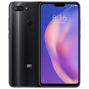 Global Version Mi 8 Lite 6GB 128GB 6.26″ 19:9 Notch Full Screen Snapdragon 660 Octa Core 24MP Front Camera Smartphone (Black) (Black)