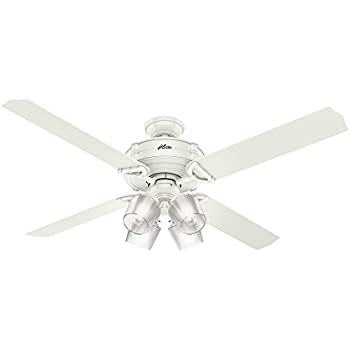 Amazon hunter 54178 brunswick ceiling fan with light kit with hunter 54178 brunswick ceiling fan with light kit with integrated control system 60 inch mozeypictures Image collections
