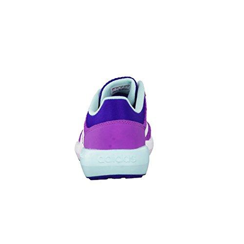 adidas Cloudfoam Race K, Zapatillas de Deporte Para Niños Morado (Pursho / Ftwbla / Azuent)