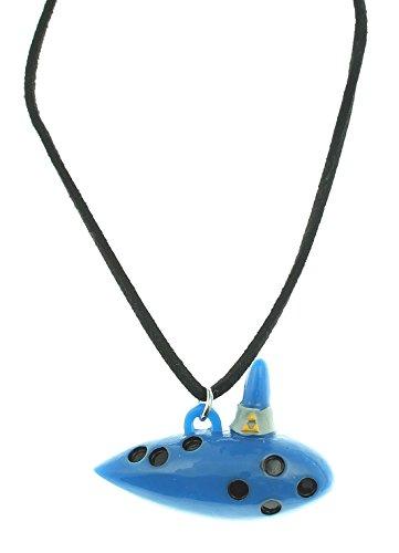 Legend Zelda Ocarina Cord Necklace