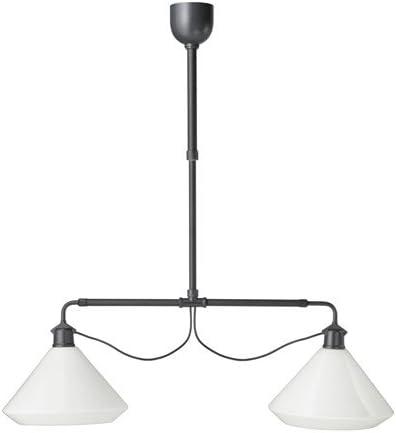 Ikea - Lámpara de Techo Doble, Color Blanco: Amazon.es: Juguetes y juegos