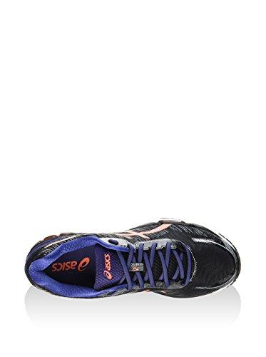 Asics Gel-Glorify 2, Chaussures de Gymnastique Homme - black/deep cobalt/shocking orange