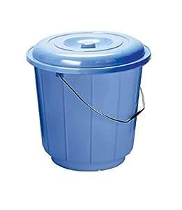 Sarvah Plastic Bucket With Lid 16 Liter