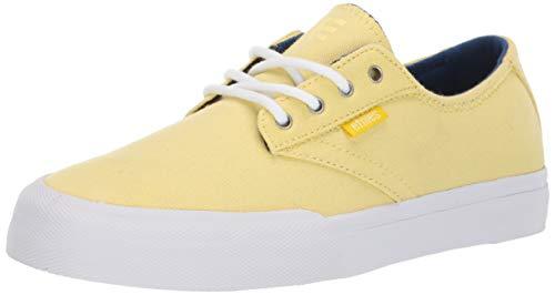 (Etnies Women's Jameson Vulc LS W's Skate Shoe Yellow 11 Medium US)