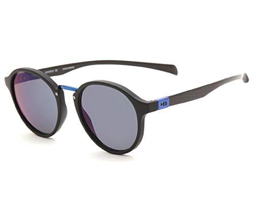 8ceb79ed2 Óculos de Sol HB Brighton Mt Black D.Blue Chrome Cor:Azul;Tamanho