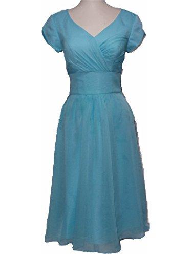 Iridescent Short Dress Cocktail Dress - 8