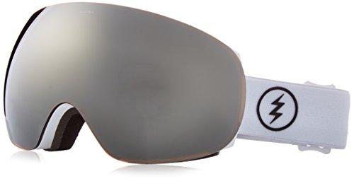 Eg2 Snowboard Goggles Electric (Electric Visual EG3 Gloss White/Bronze Silver Chrome Snow Goggle)