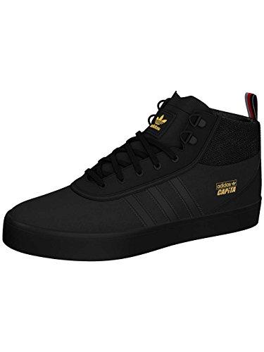 Skate zapato hombres Adidas Skateboarding adi-trek Skate zapatos core black/scarlet/gold m