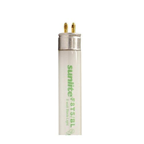 (Sunlite 8w T5 F8T5/BL Blacklight 12 inch G5 2-pin Fluorescent Tube Light )