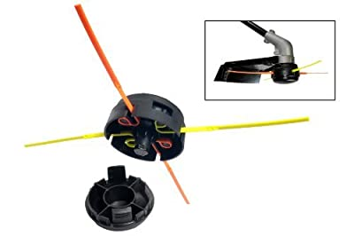 Aero-Flex No More Line! Universal Replacement Trimmer Head, Model: KU3700101 , Home & Outdoor Store
