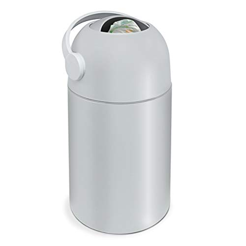 Lil' Jumbl Odor Locking Diaper Pail, Child-Proof Diaper Trash Can, Modern Sleek Design, Easy To Use & Clean, No Special Bag Required Uses Regular Garbage Bags