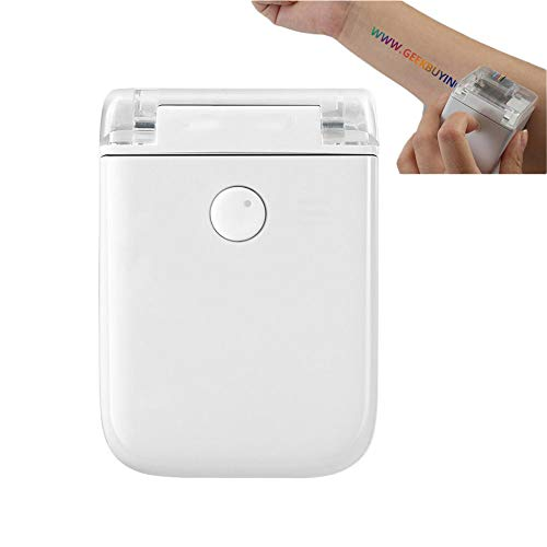 Pocket Smart Color Printer Portable Handheld Princube-World's Smallest Printer with WIFI USB Connection Works on Any Material