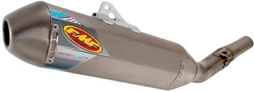 FMF Racing Factory 4.1 RCT Slip-On - Titanium Muffler - Titanium Midpipe - Titanium Endcap , Color: Natural, Material: Titanium 045474 -