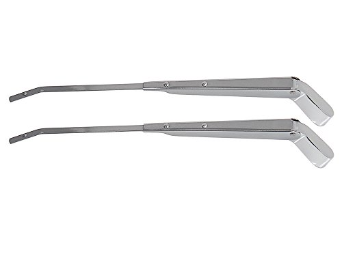 New 1960-65 Ford Falcon, Mercury Comet, Cyclone Windshield Wiper Arms Left Right Pair ()