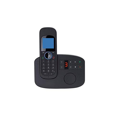 20 Minute Digital Answering Machine - GONGFF Telephone- Office Landline Home Wireless Fixed Telephone Extension, Four Specifications Black Mobile Phone Welcome (Size : 1)