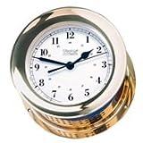 Weems & Plath Atlantis Collection Quartz Clock (Brass)