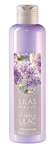 Yves Rocher Purple Lilac Body Lotion 200 ml./6.7 - Floral Lotion Body Delicately